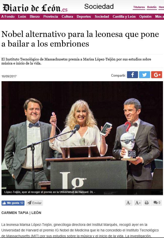 Diario de León IGNobel