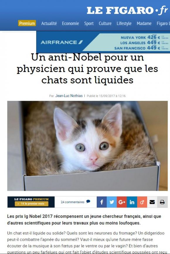 Le Figaro IGNobel