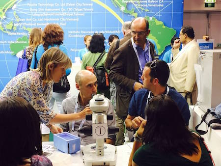 Our embryologists again at the ESHRE Annual Meeting