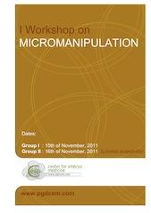 i_workshop_on_micromanipulation_cem_2011_cover